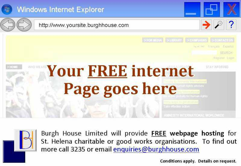 Free Webpage Hosting Offer Get your place on the World Wide Web Burgh House